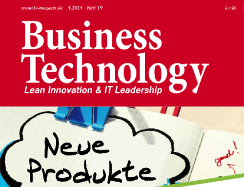 Agiles Produktmanagement – Artikel in der Business Technology 4.2014